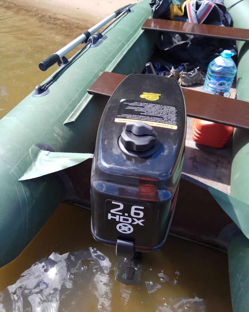 Двухтактный лодочный мотор HDX T2.6