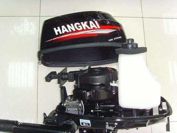 Двухтактный лодочный мотор Ханкай 6